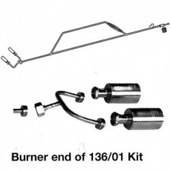 136-01 2 Burner Extended Torch Kit for Propane