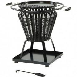 Signa Steel Basket Firepit