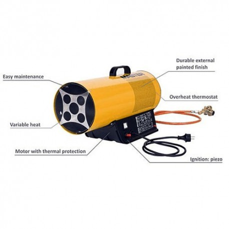 Portable Calor Gas 10kw Blow Heater For Hire