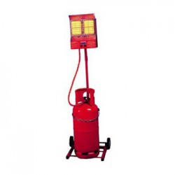 Bullfinch Gemini Trolley Heater