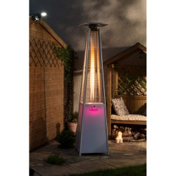 Tahiti LED Flame Tower Patio Heater