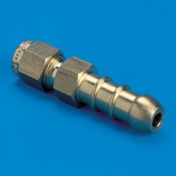 "Nozzle Adaptor 5/16"" Copper"