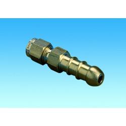 """Nozzle Adaptor 1/4"""" Copper"""