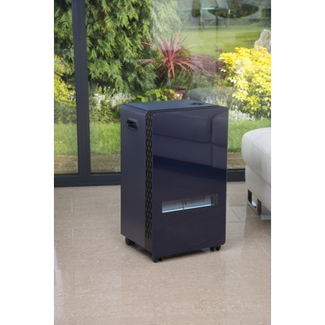 Lifestyle Azure Blue Flame Cabinet Heater