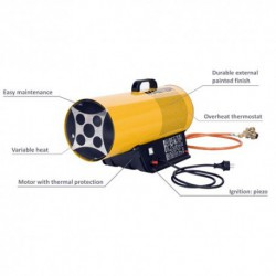 Master 10kw - 240V Gas Space Site Heater