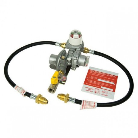 Cavagna 2 Cylinder Automatic Changeover Regulator with OPSO