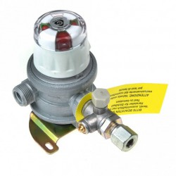 Cavagna Automatic Changeover Gas Regulator - 8mm Outlet