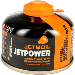 Jetboil Jetpower Fuel Gas Cartridge - 100g