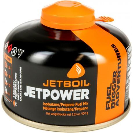 Jetboil Jetpower Fuel Gas Cartridge - 100g