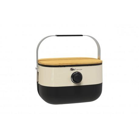 Portable Mini BBQ - Cream
