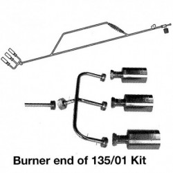 135-01 3 Burner Extended Torch Kit for Propane