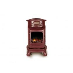 Burgundy Living Flame Calor Gas Provence Heater